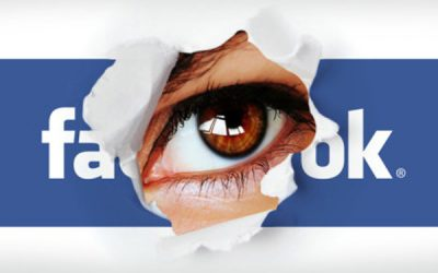 Control image displayed by Facebook